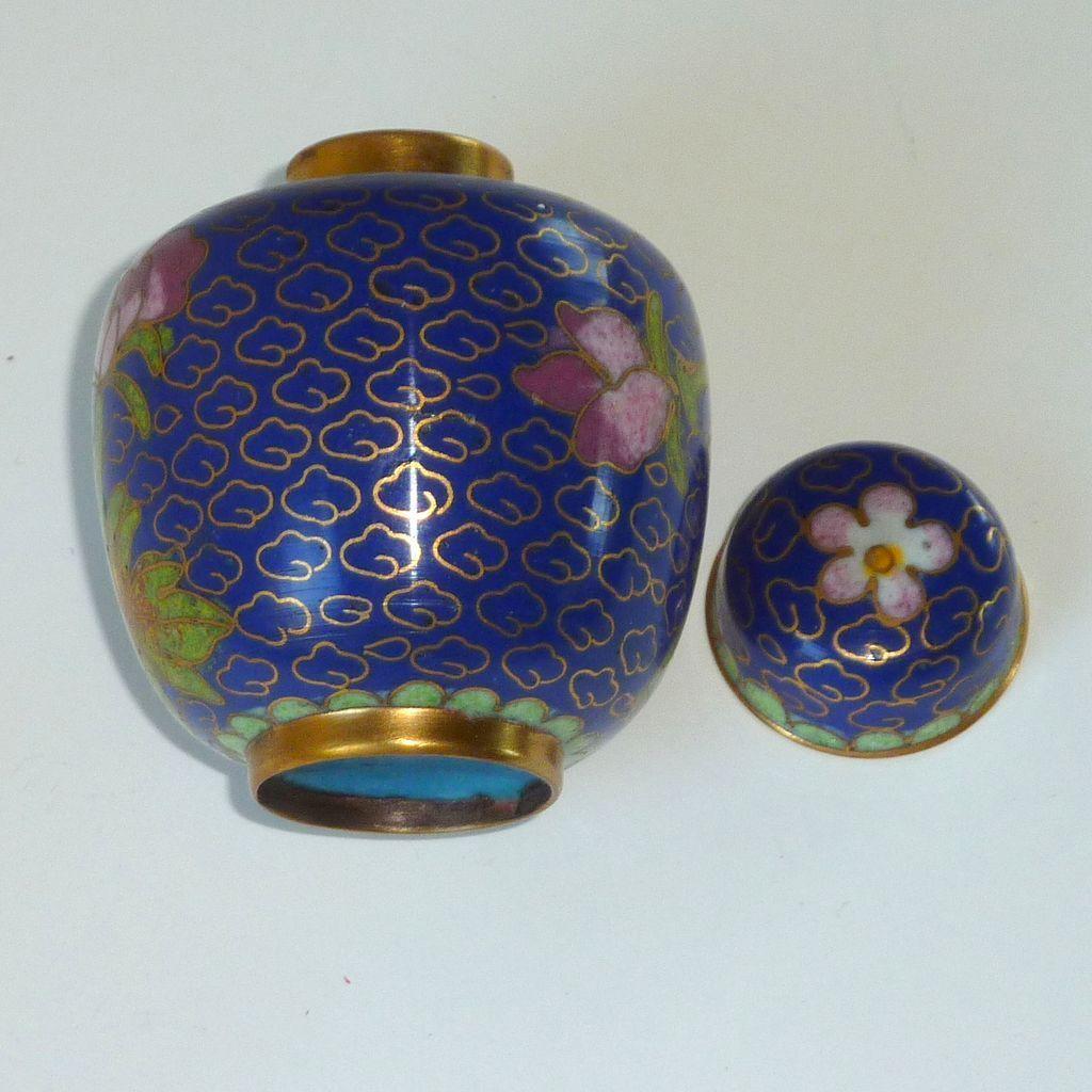 Miniature asian cloisonn cloisonne ginger jar miniatures and jar miniature asian cloisonn cloisonne ginger jar reviewsmspy