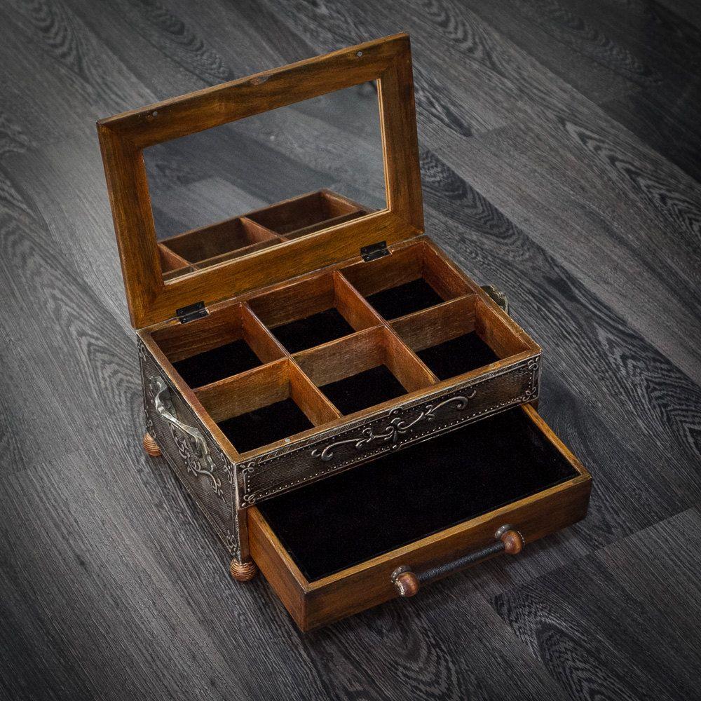 Jewelry Boxjewelry Storagelarge Jewelry Boxjewelry Box Wood