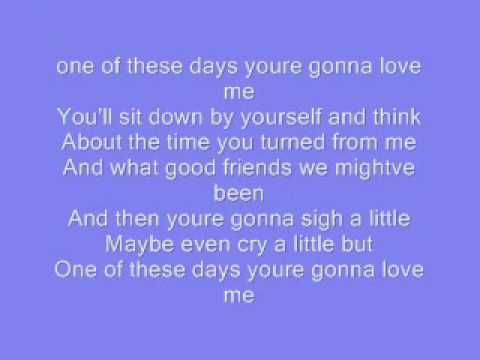 Marion - All of These Days Lyrics   Musixmatch