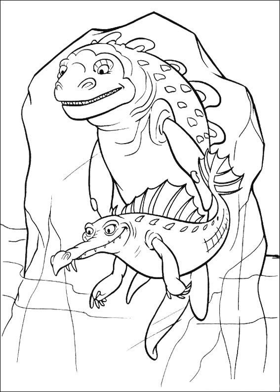 Ice Age Coloring Page 35 Is A From BookLet Your Children Express Their Imagination When They Color The