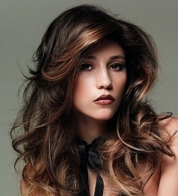 10 Hair Coloring Ideas For Indian Hair Dark Brown Hair Indian Skin Tone In 2020 Hair Styles Blonde Hair With Highlights Loose Curls Hairstyles
