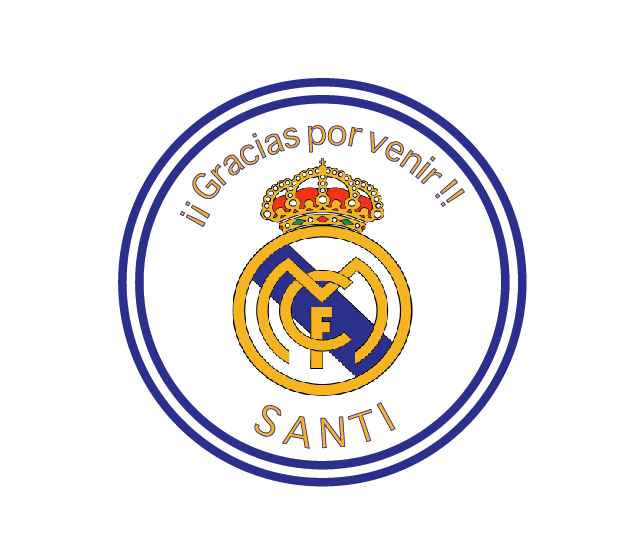 Tarjeta Real Madrid Realmadrid Tag Tarjeta Cumple Cumpleanos