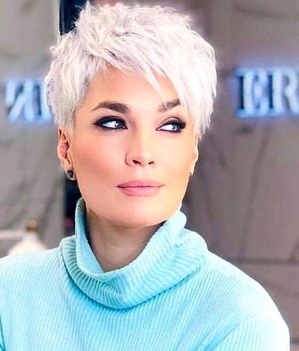 Trending Hairstyles 2019  Short Pixie Hairstyles #shortpixie