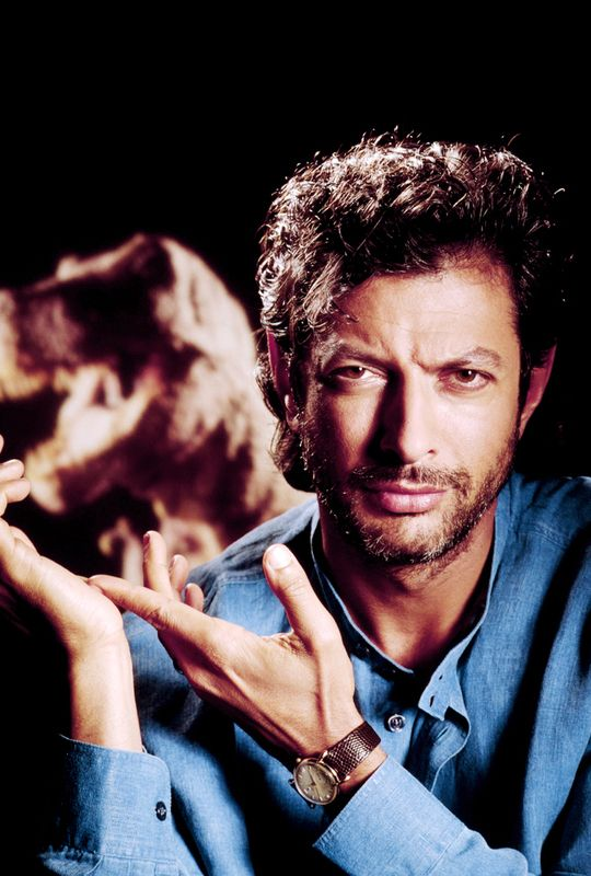Girl With A Top Knot Photo Jurassic Park Jeff Goldblum Jurassic Park Jurassic World