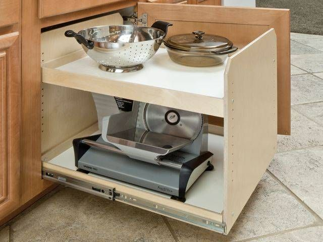 Made To Fit Slide Out Shelves For Existing Cabinets By