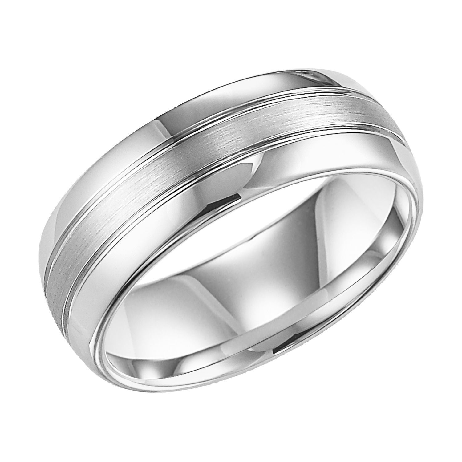 Tungsten Carbide 8mm Comfort Fit Band With Images Comfort Fit