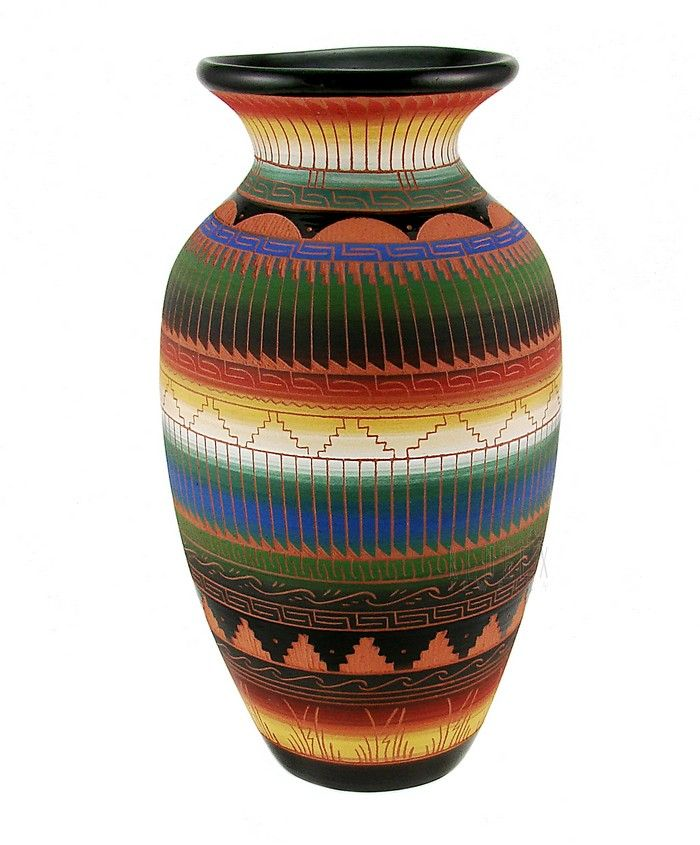 Navajo Vase Signed By Ella Morgan Klugexcollectibles Www