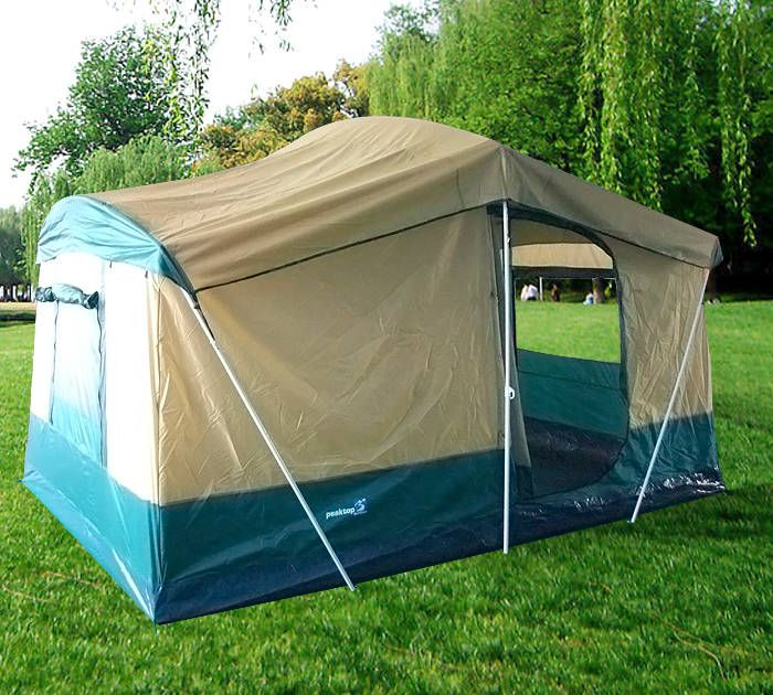 Brand New 2 Rooms Persons Large Family Group Cabin Tent & Nice tent for family camping trip | Enjoy Outdoors | Pinterest ...