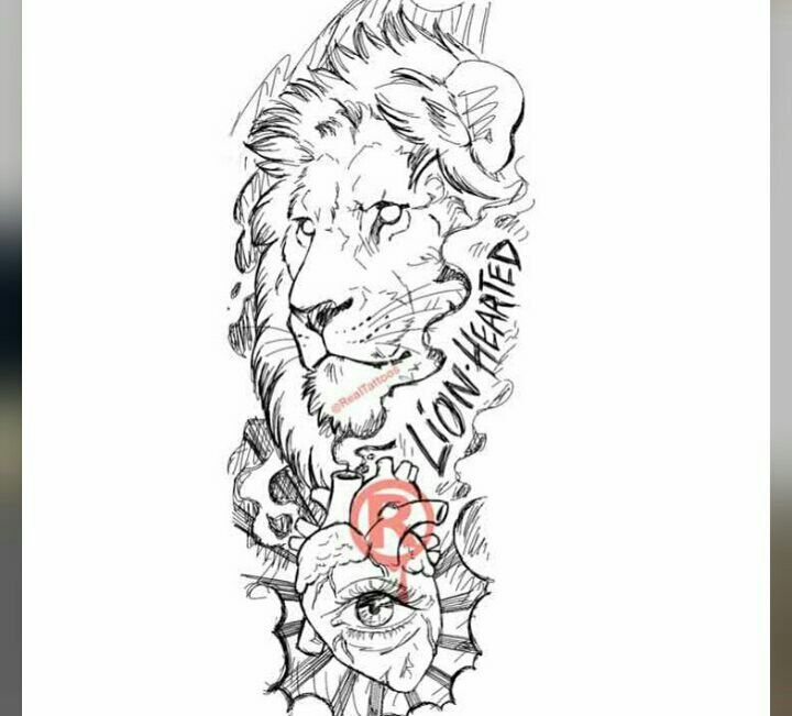 Areeisboujee Half Sleeve Tattoos Sketches Lion Tattoo Sleeves Chest Tattoo Stencils