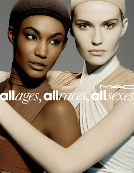 1 ) BRAND ELEMENT: MAC's Slogan/Tagline: ''All ages, all
