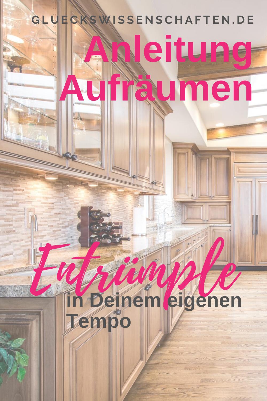 Anleitung Entrümpeln in DEINEM Tempo Anleitungen