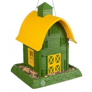 North States Small Green Barn Birdfeeder - Mills Fleet Farm