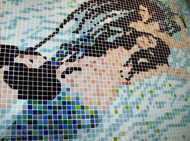 Interstyle Ceramic  Glass Tile - Galleries, mermaid mosaic, custom pool tile ideas, glass floor tile, beautiful tile mosaic