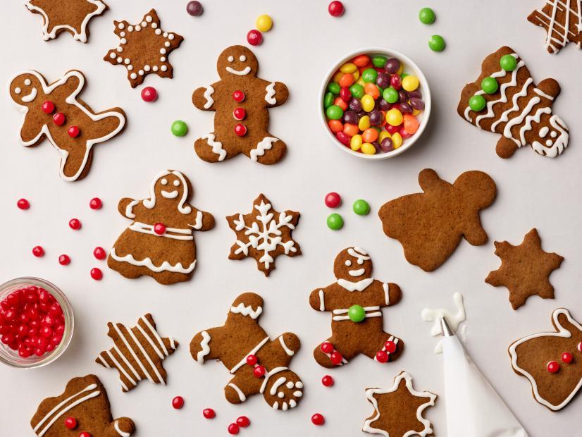 The Spiciest Gingerbread Cookies Ever Recipe In 2020 Gingerbread Cookies Food Network Recipes Holiday Cookies