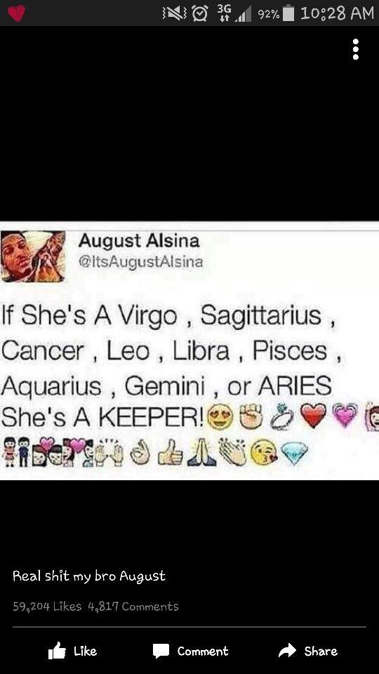 Shes a keeper | Stuff | Zodiac signs, Zodiac signs leo, Zodiac