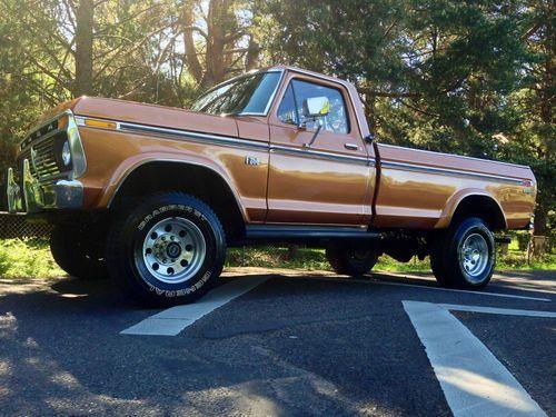 1974 F250 Highboy Truck 1976 Ford F250 Xlt Ranger Longbed