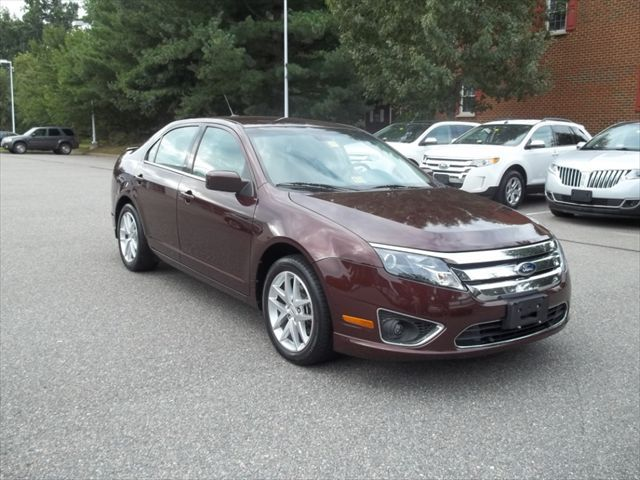 Certified Pre-Owned 2012 Ford Fusion SEL - This Medlin Ford #CarOfTheWeek is just the right color for fall.