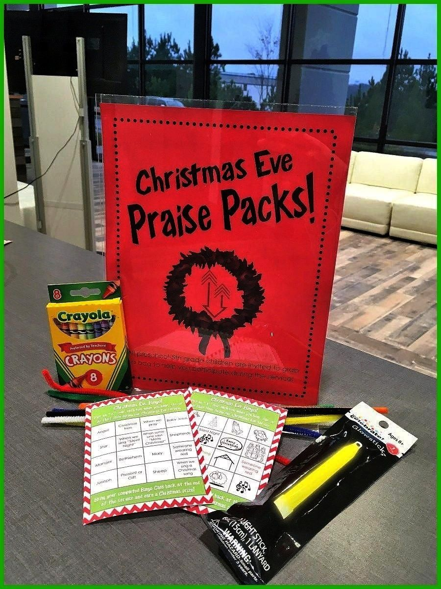 Christmas Eve Edition Help kids engage in the Christmas Eve service with praise packs full of tools for participation rather than distraction Best Picture For christmas d...
