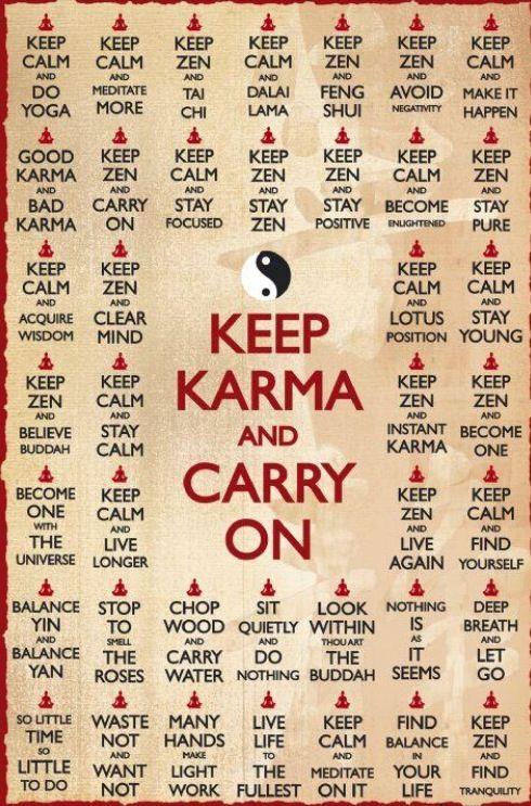 Karma ;)
