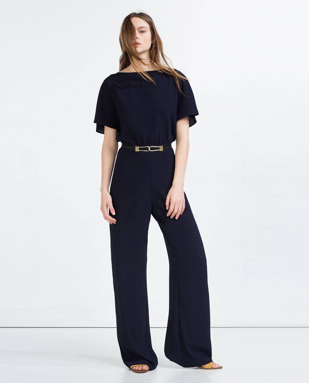 732c494c5d83 JUMPSUIT WITH WAIST SEAM-JUMPSUITS-WOMAN