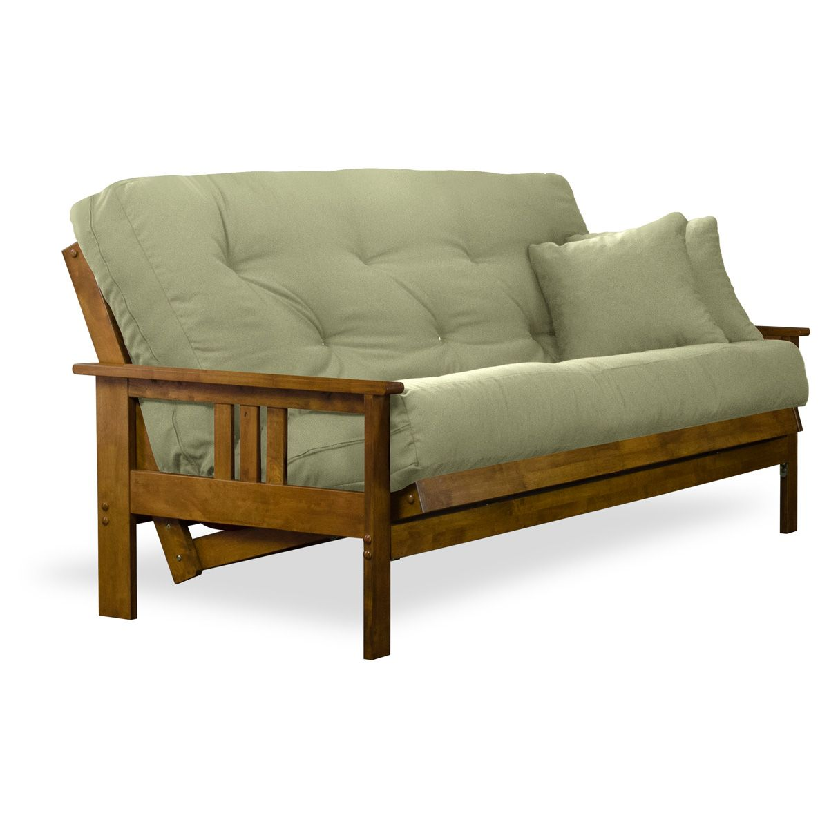 Found it at www.futoncreations.com - ♥ ♥ Orlando Wood Futon Frame ...