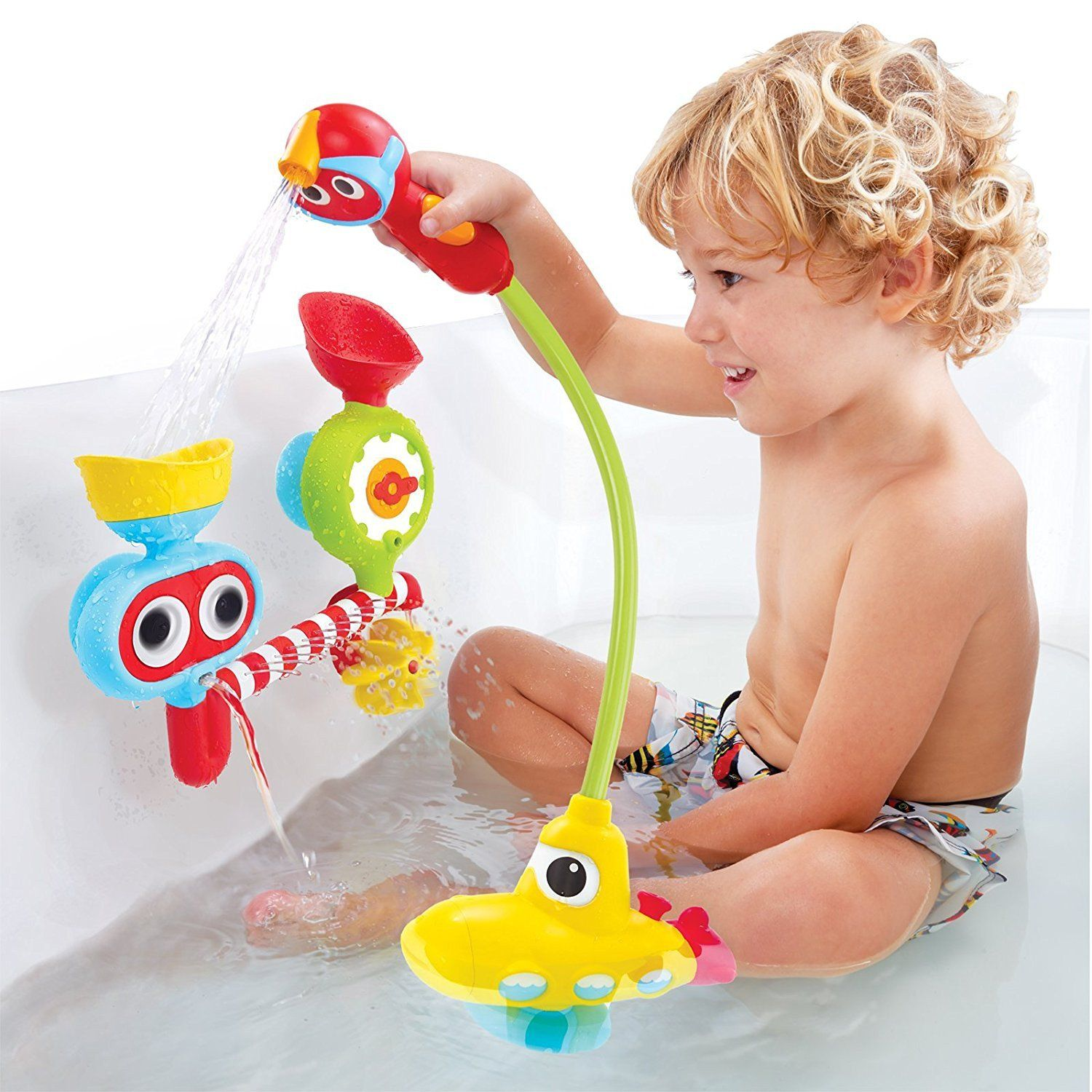 Baby Safe Submarine Spray Station Battery Operated Water