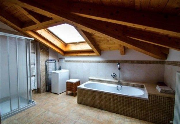 Arredare il bagno in mansarda new house pinterest