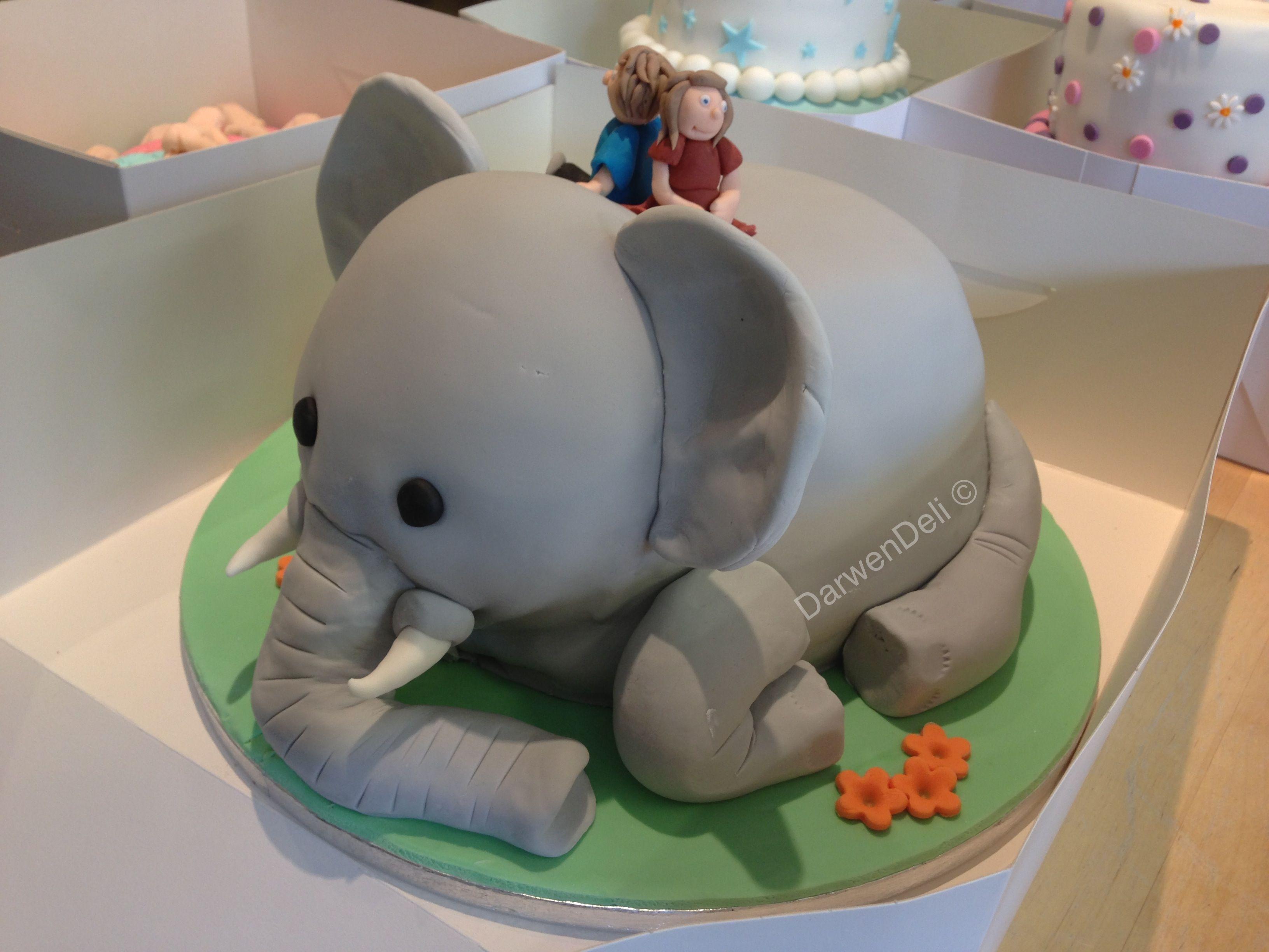 How To Make A Cake Shaped Like An Elephant