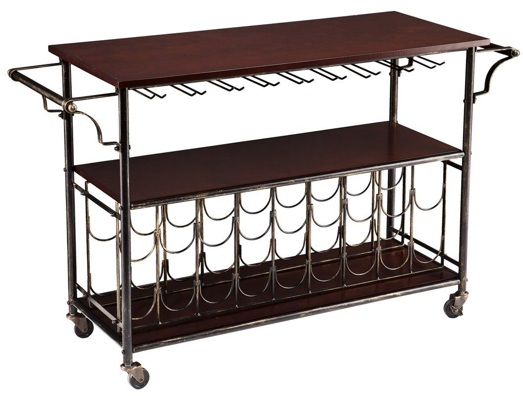 Dalton bar cart wooden tops bar carts and bar