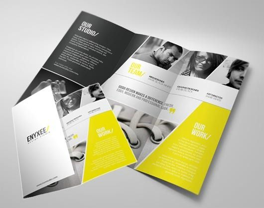 3 fold elegant brochure - Google Search Brochure Pinterest - studio brochure