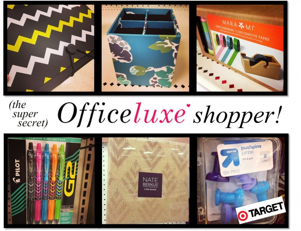 Target backtoschool supplies check out our Office Luxe