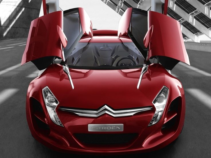 Citroen Concept Car Top Gear Supercars Fast Cars Sports Cars Luxury Citroen Car Sports Car