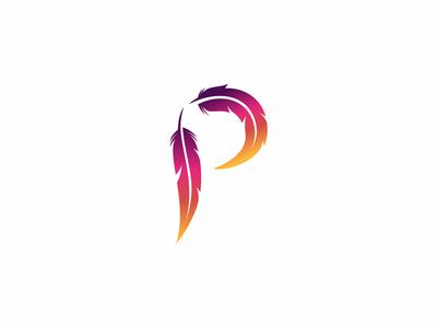 Parrot Letter P Letter Logo Design P Logo Design Lettering Design