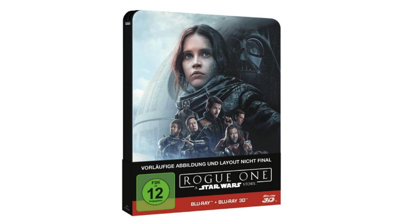 [Vorbestellen] Rogue One  A Star Wars Story Steelbook Edition [2D/3D Blu-ray]  Preis angepasst