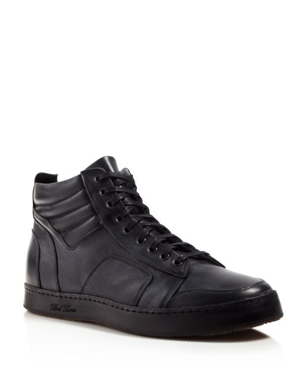 DEL TORO High-Top Boxing Sneakers X6sqMGSyCT