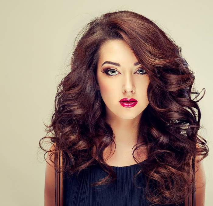 Burgundy Hair Color Is A Dark Red Violet Shade That Dramatic And Memorable