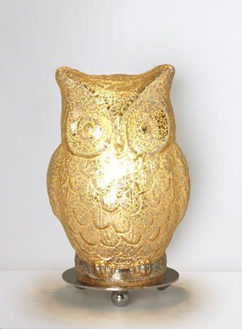 Eroll gold owl table lamp owl obsession pinterest desk lamp eroll gold owl table lamp aloadofball Choice Image
