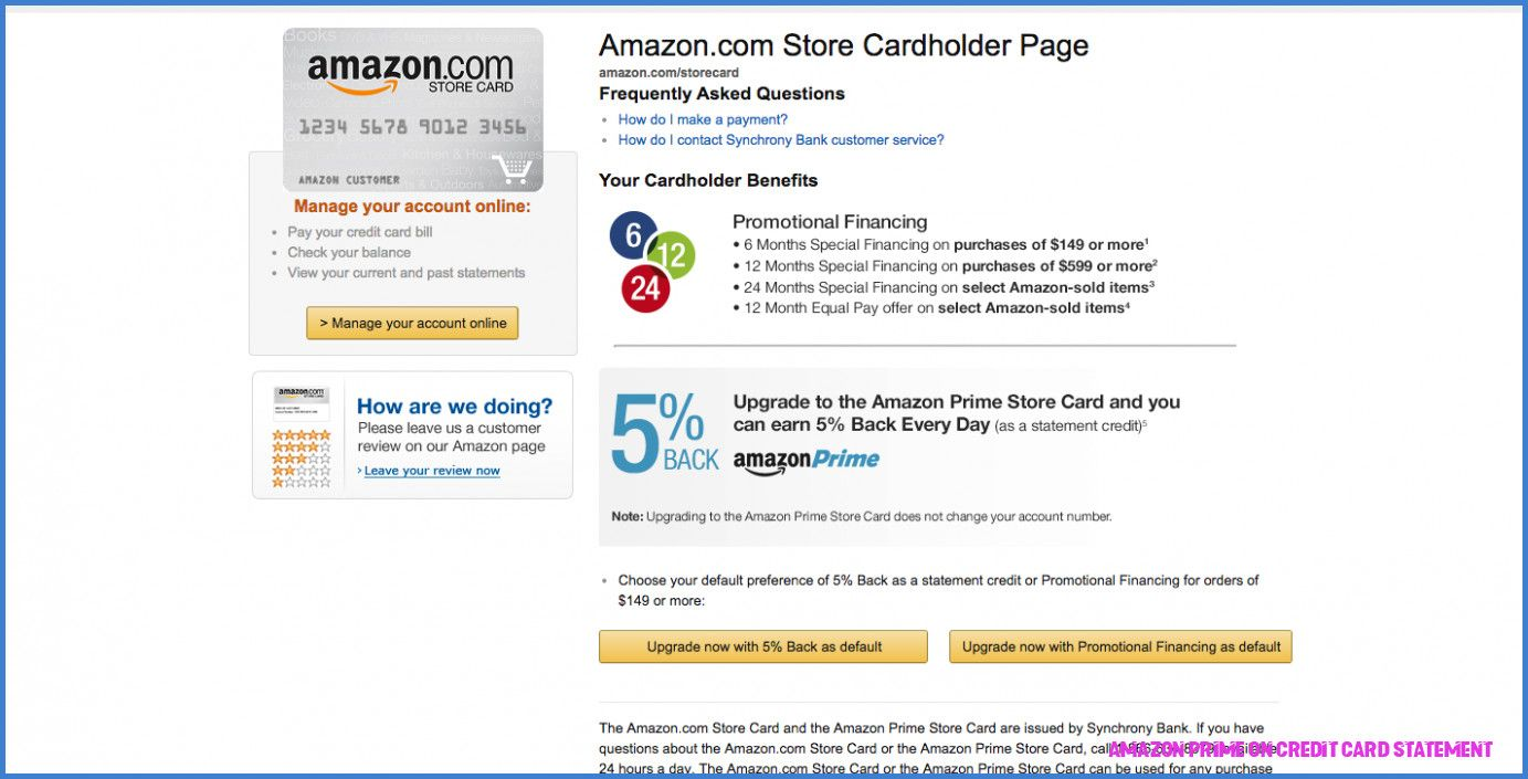 Everything you need to know about amazon prime on credit