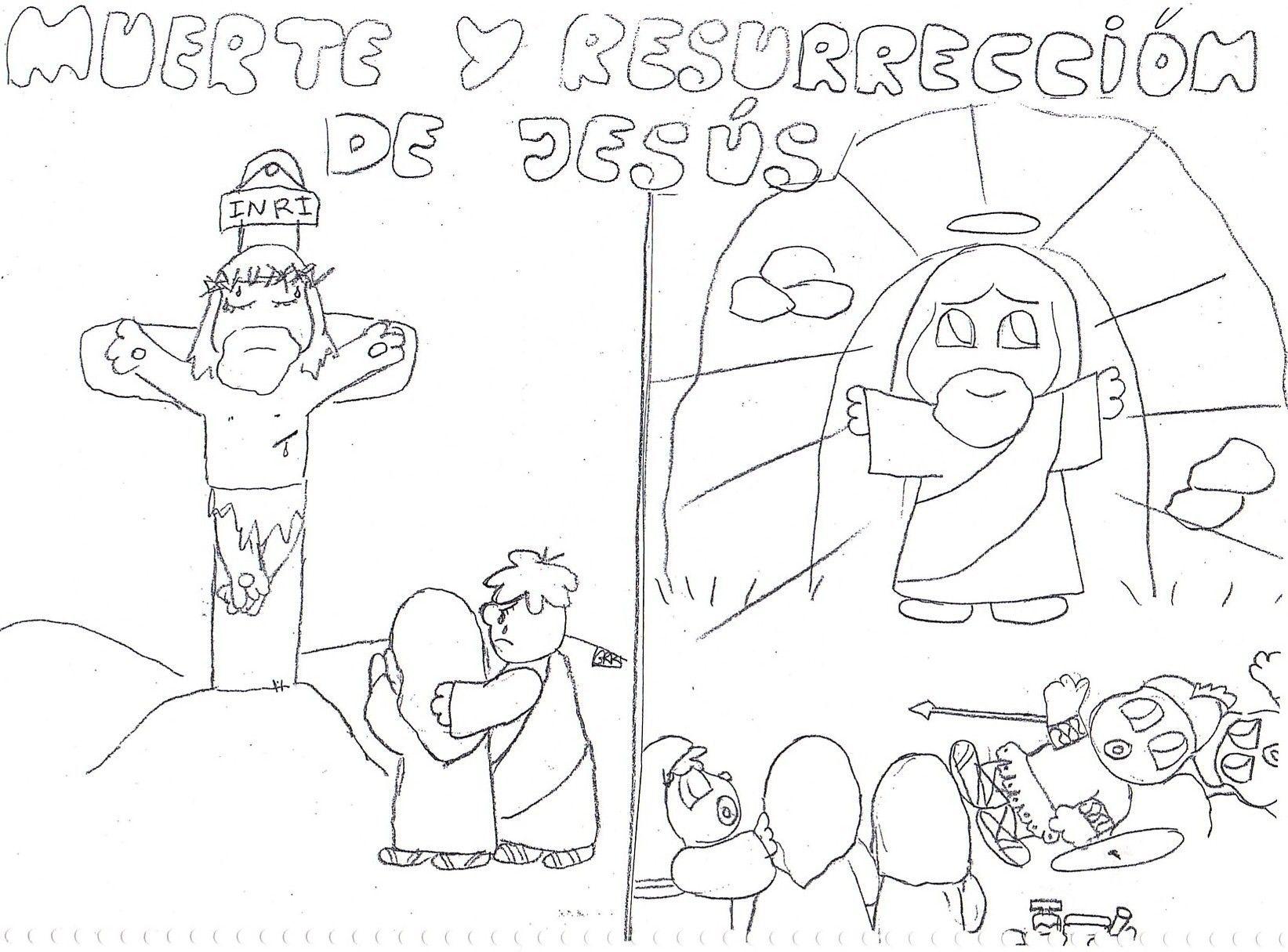 Laminas De La Biblia Para Colorear Imprimir Y Recortar Pascuas De