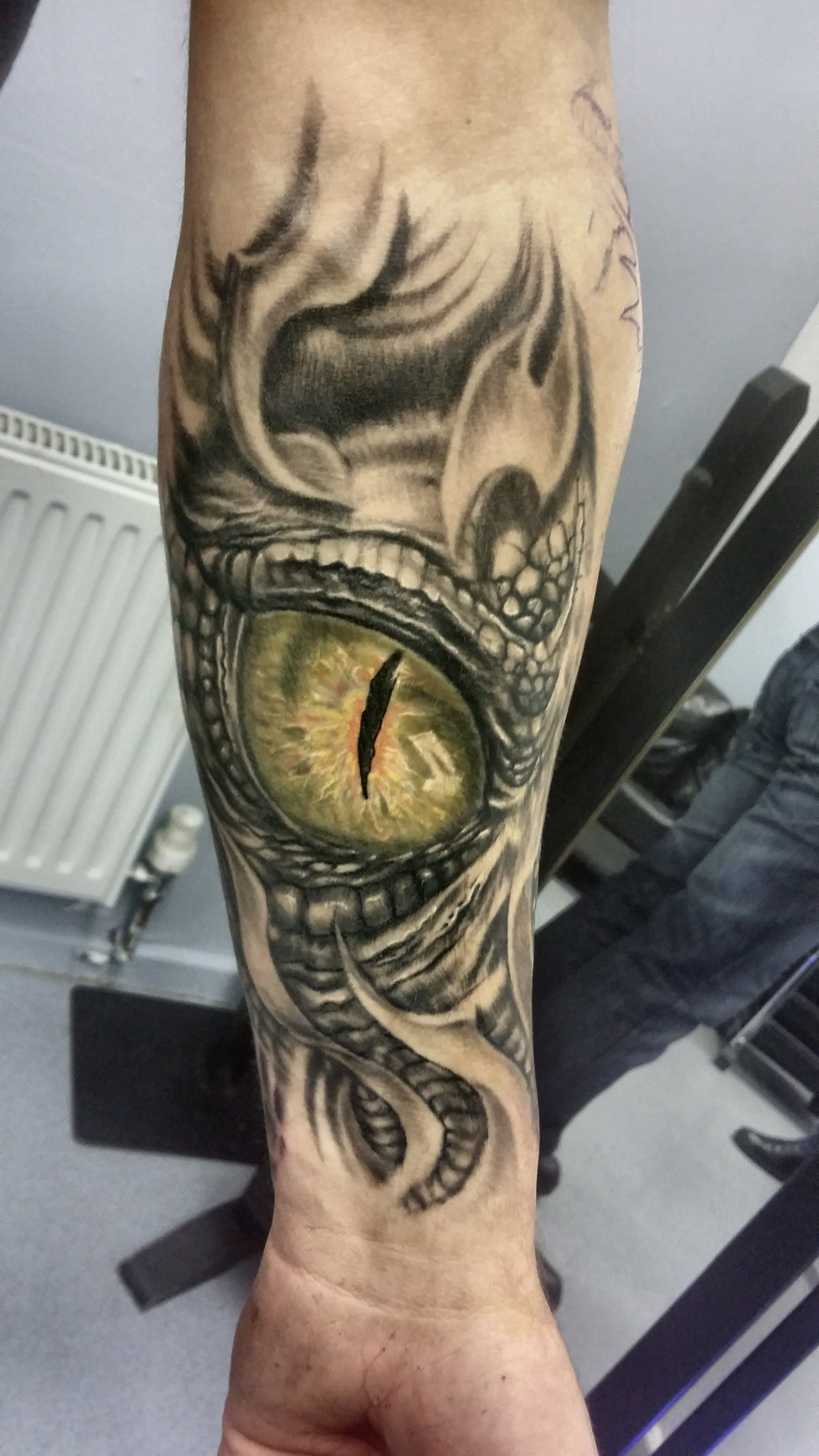Download Dragon Eye Tattoo Eye