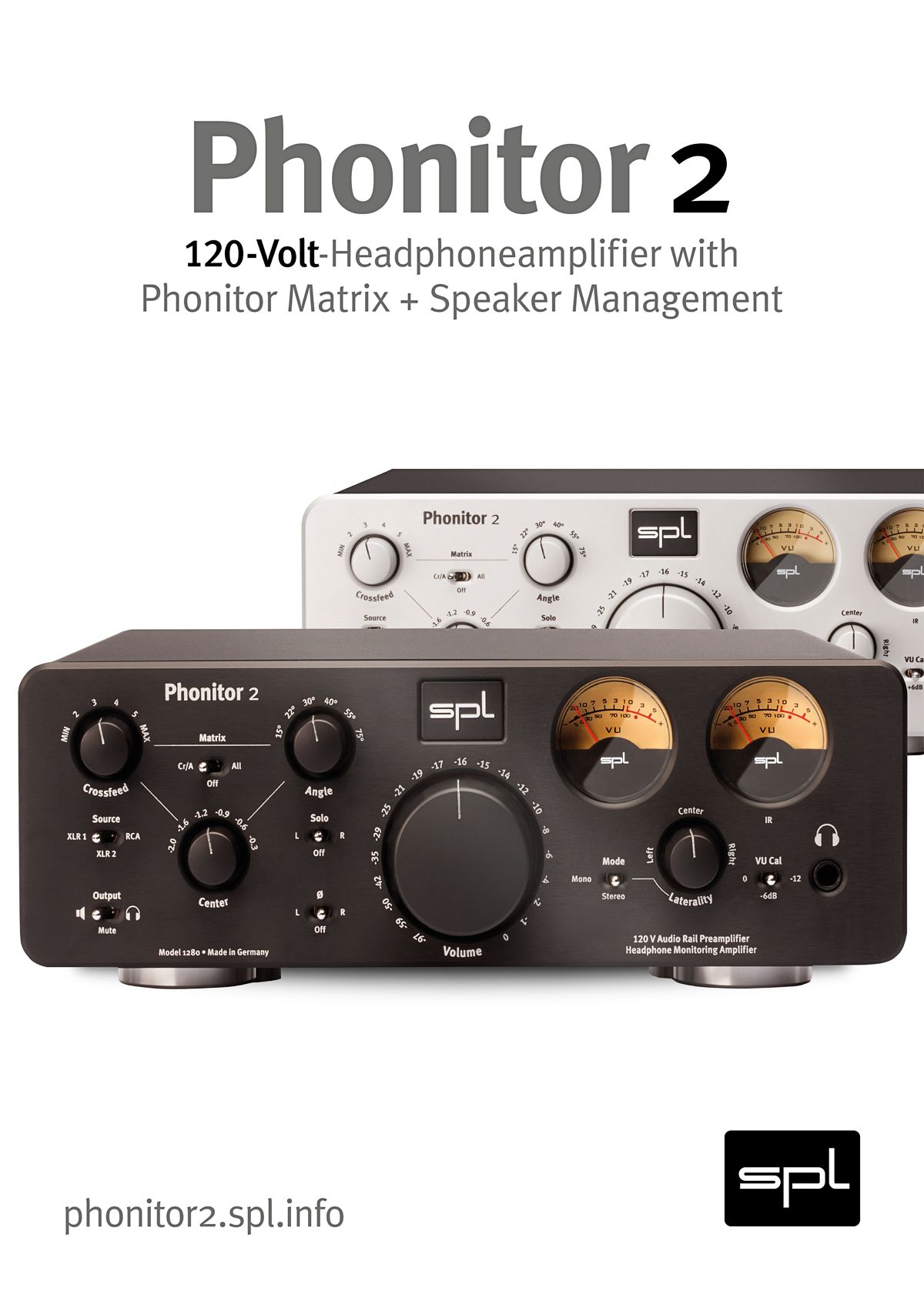 #SPL #Phonitor2 120V Rail Headphone Monitoring Amplifier