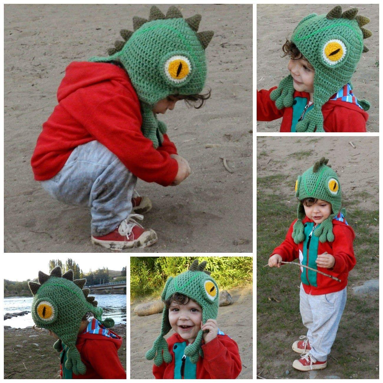 daxa rabalea: Gorro iguana - patrón gratis | Amigurumis | Pinterest ...