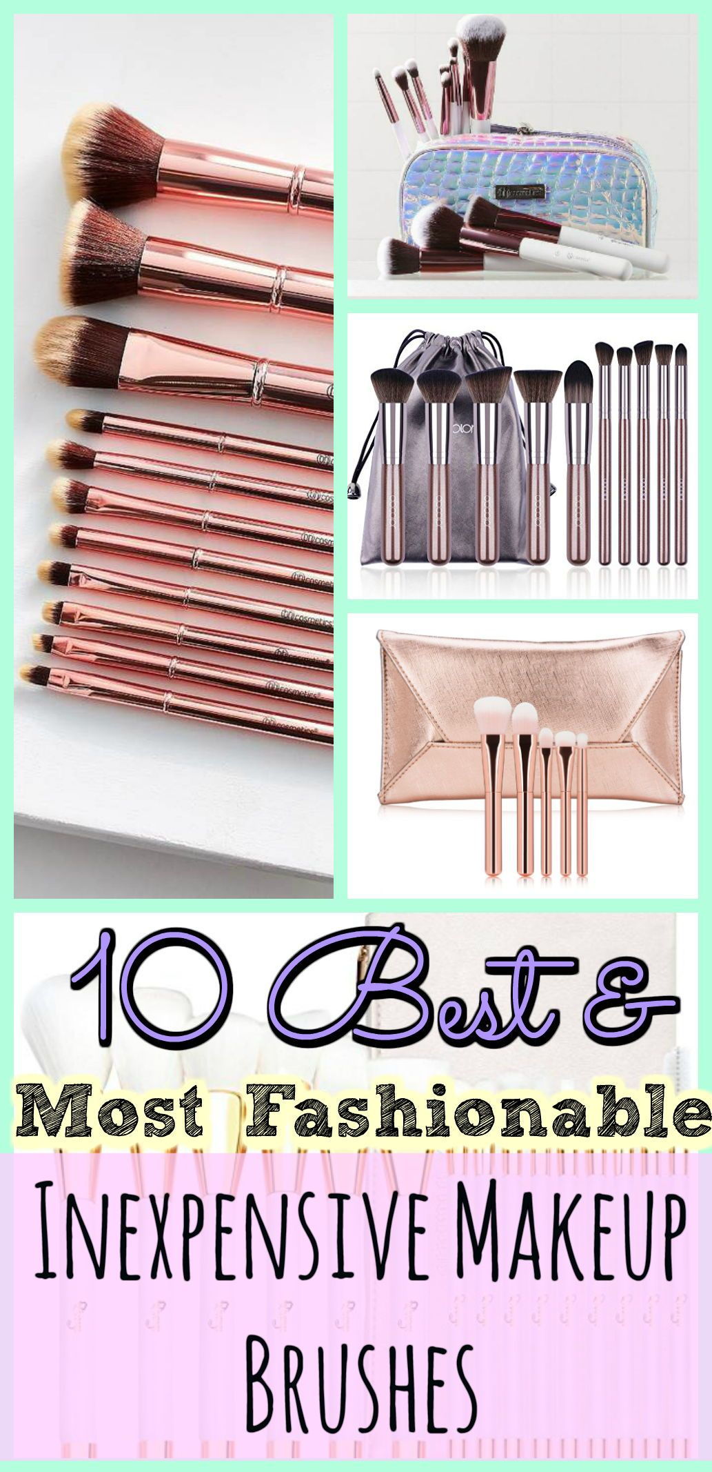 10 Of The Best Most Fashionable & Inexpensive Makeup