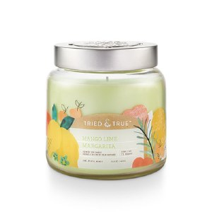 15.5 oz Mango Lime Margarita Jar Candle #limemargarita