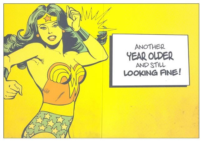 Happy Birthday Wonder Woman Quotes: Another Year Older And Still Looking Fine! Wonder Woman