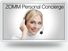Check this out! ZOMM has launched the Personal Concierge service today! Get an assistant in just a few minutes :-)