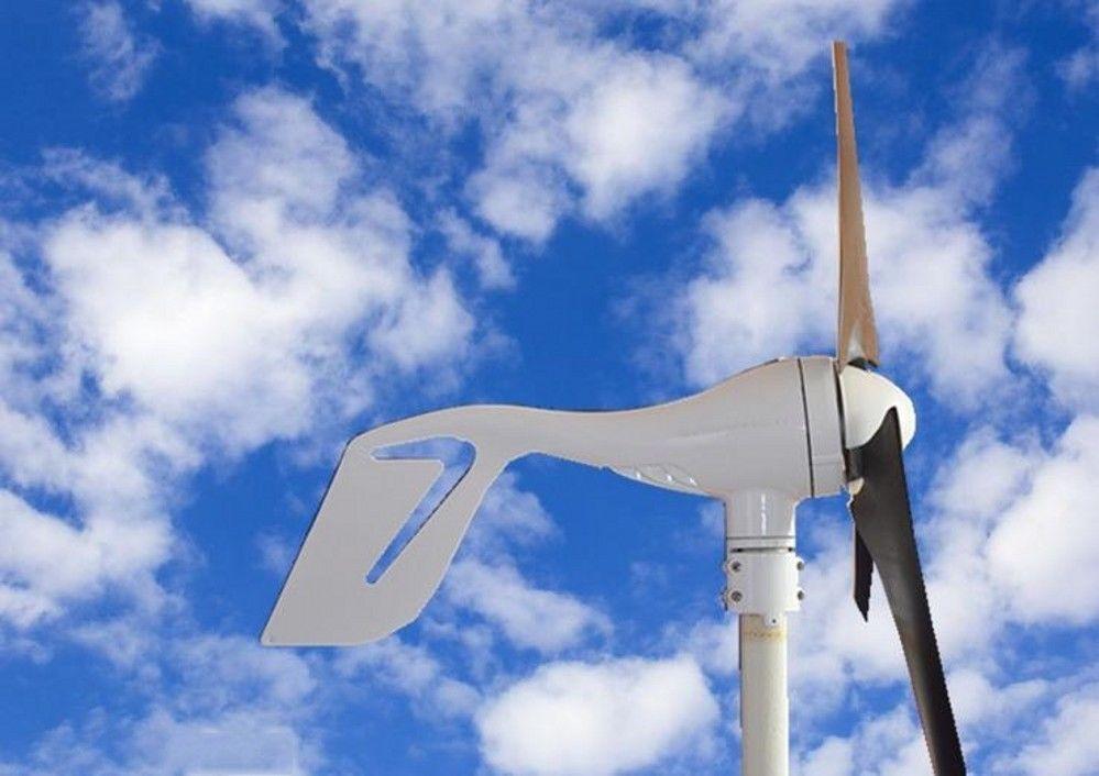 DC 12/24 V 400W Wind Turbine Generator System with Hybrid Solar Panel Controller #ECOWORTHY