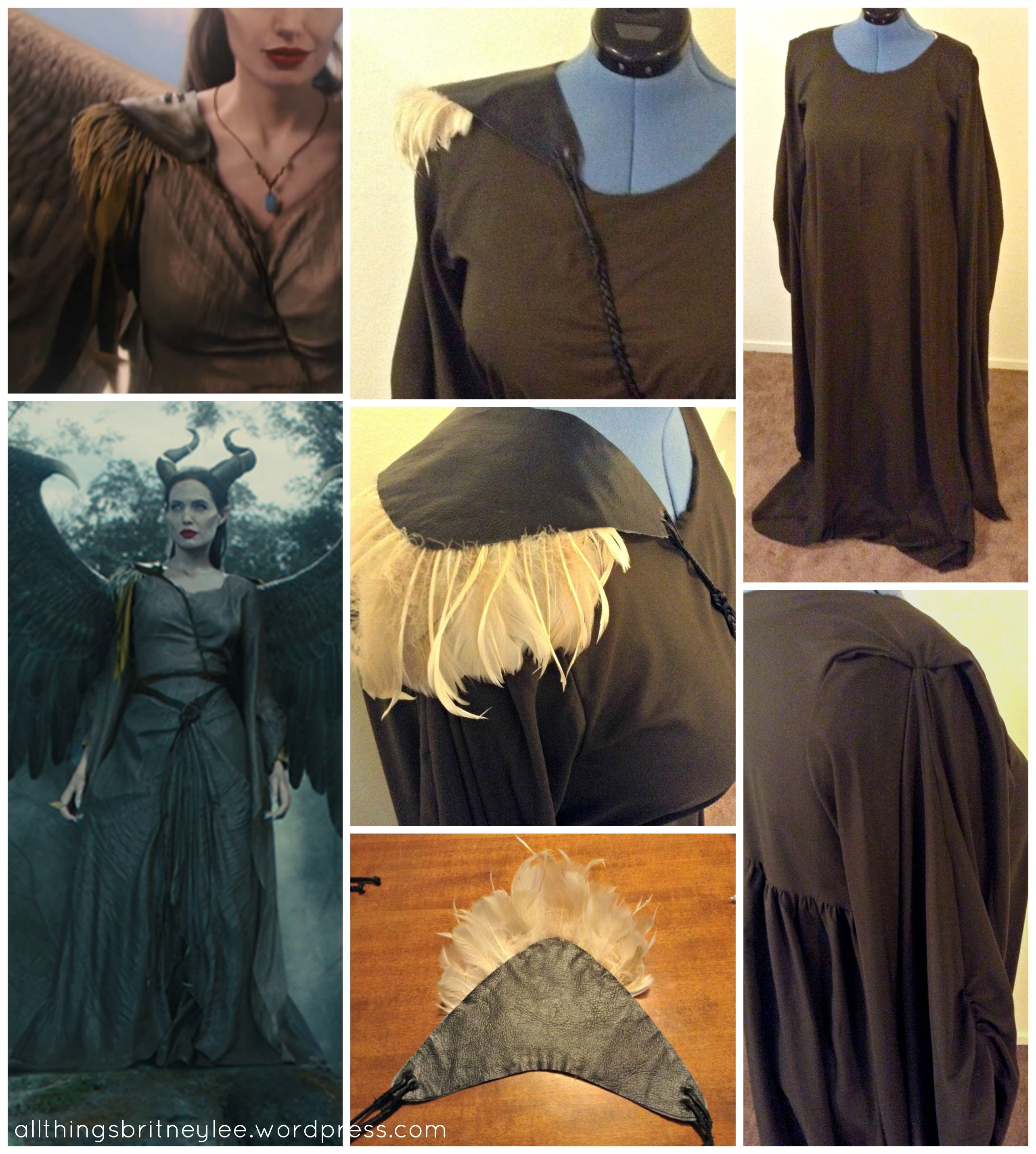 How I Made My Maleficent Costume The Dress Malefica