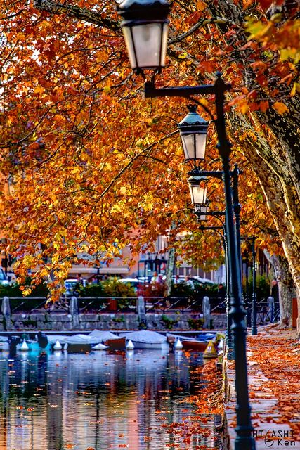 Annecy, France .. Pinning just because this is beautiful and I have been to this very spot :)