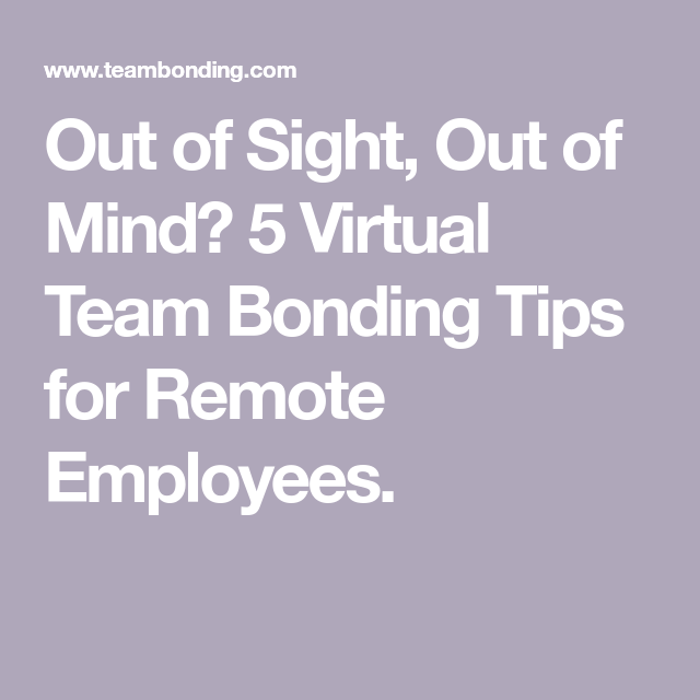 5 Virtual Team Building Activities For Remote Employees Teambonding Work Team Building Team Building Activities Fun Team Building Activities